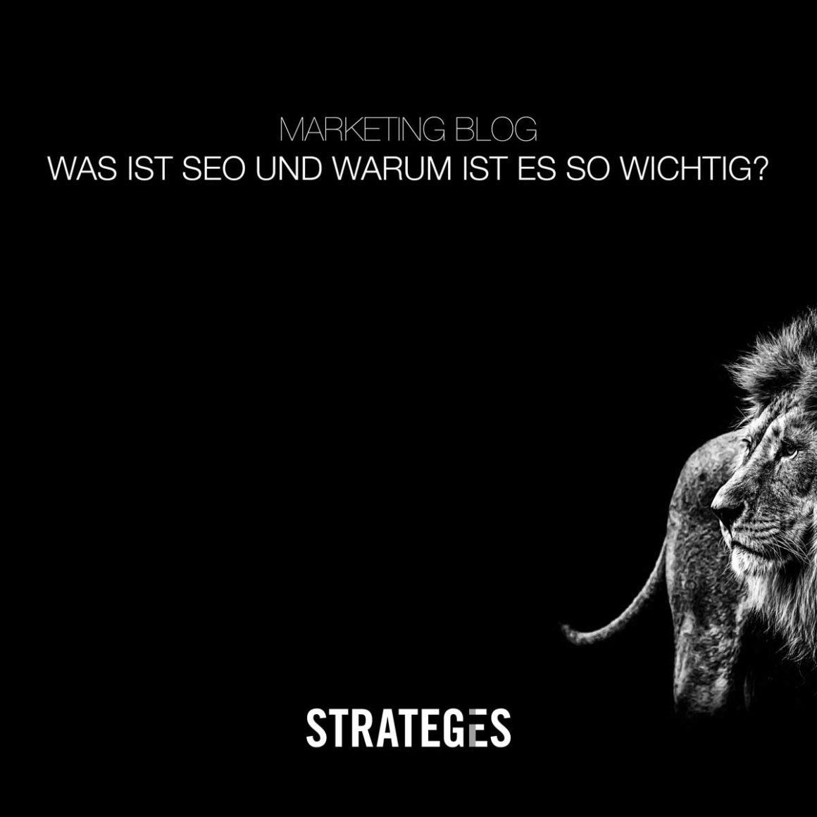 Marketing Blog STRATEGIES Was ist SEO und warum ist es so wichtig
